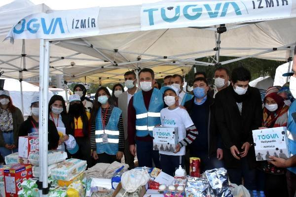 Enes Eminoğlu: İlk günden itibaren TÜGVA olarak destek çadırları kurduk