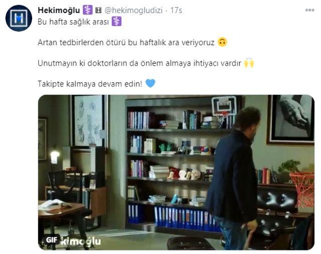 Hekimoğlu dizisinin çekimleri koronavirüs tedbirleri nedeniyle 1 hafta  durduruldu - Magazin