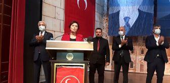 Fatma Kaya: MHP Mardin 1'inci Olağan İl Kongresi gerçekleşti