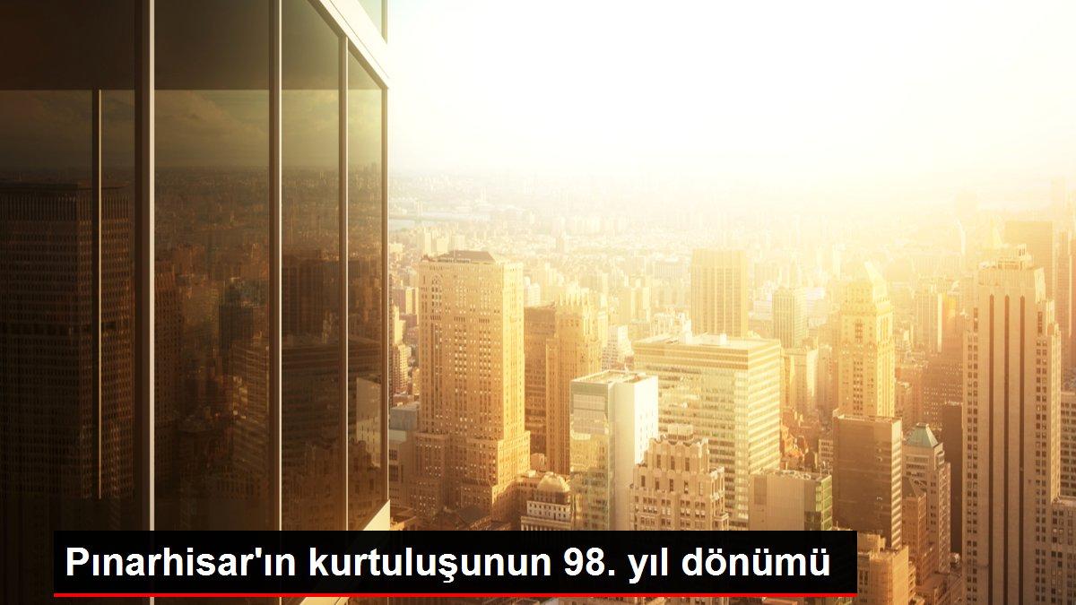 Pınarhisar'ın kurtuluşunun 98. yıl dönümü