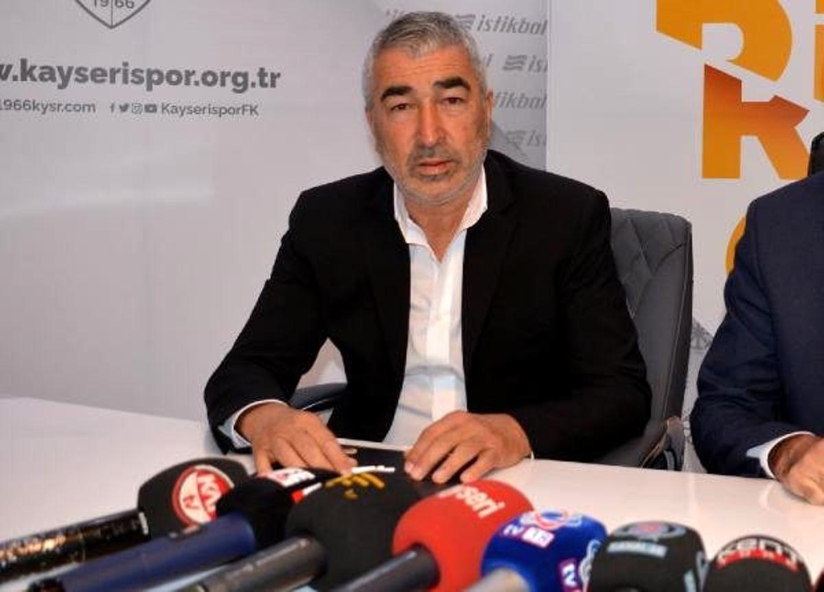 Kayserispor, Samet Aybaba ile anlaştı