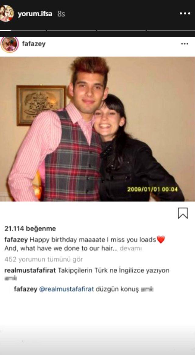 Oyuncu Farah Zeynep Abdullah, kendisine küfür eden takipçisine küfürle karşılık verdi