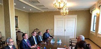 10 Kasım: Kamu Başdenetçisi Malkoç, Nahçivan Ali Meclis Başkanı Talıbov ile görüştü