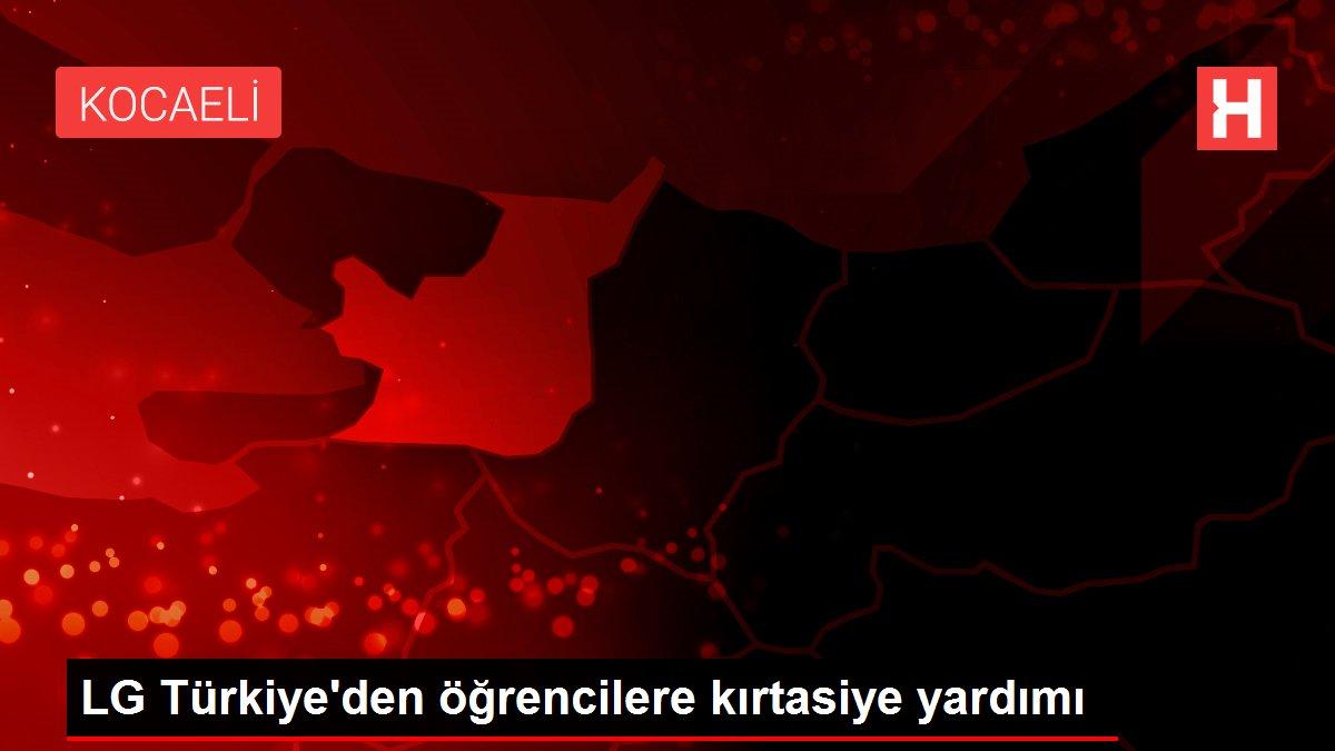 LG Türkiye'den öğrencilere kırtasiye yardımı