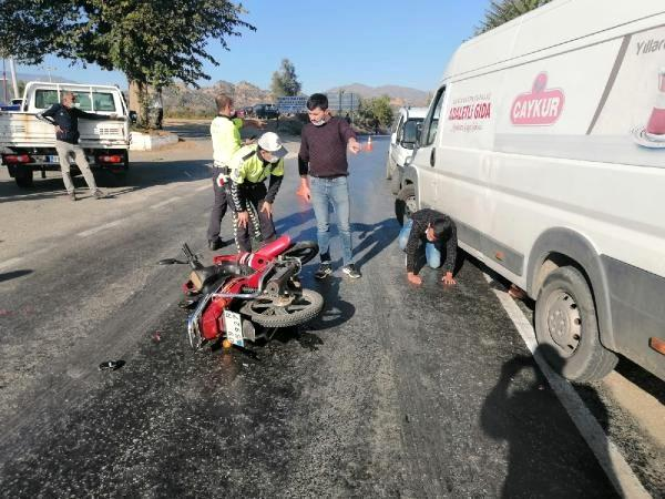 Aydın'da trafik kazası: 1'i ağır 2 yaralı
