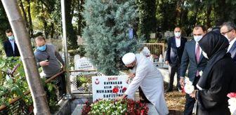 Muhammet Fatih Safitürk: Şehit Kaymakam Safitürk, mezarı başında anıldı