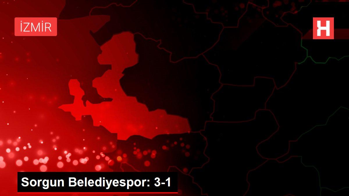 Sorgun Belediyespor: 3-1
