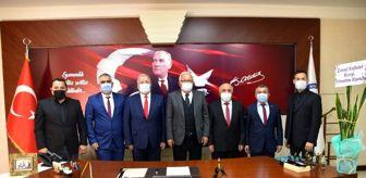 Kemal Özer: Esnaf Kefalet yönetiminden başkan Posbıyık'a ziyaret