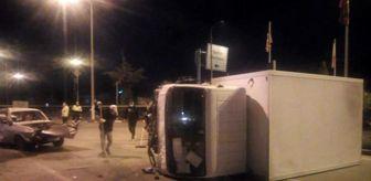 Gelendost: Isparta'da kamyonet ile otomobil çarpıştı: 1 ölü, 5 yaralı