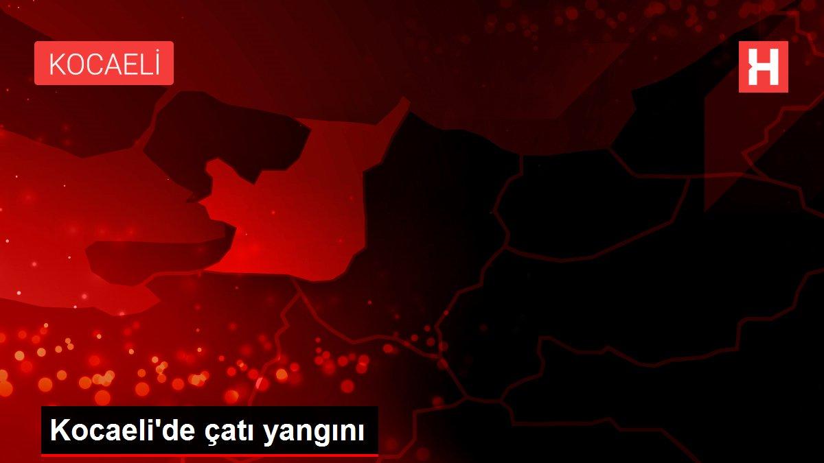 Son dakika haberleri | Kocaeli'de çatı yangını