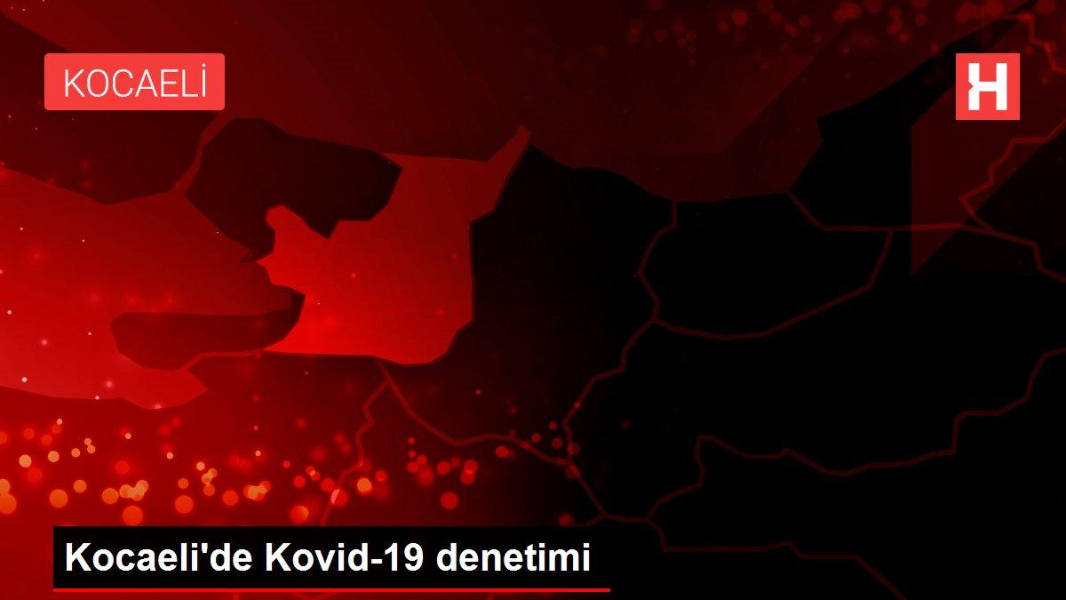 Kocaeli'de Kovid-19 denetimi