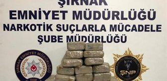 Van Emniyet Müdürlüğü: Şırnak'ta, TIR'da 20 kilo eroin bulundu