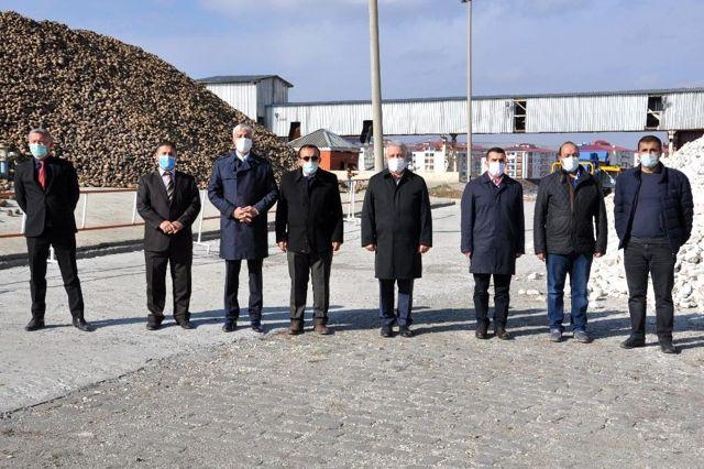 Kars Şeker Fabrikası'nda 63 ton pancar işlenecek