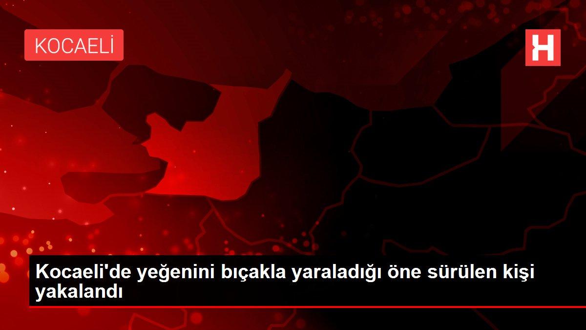 Kocaeli'de yeğenini bıçakla yaraladığı öne sürülen kişi yakalandı