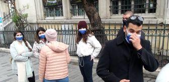 Beyoğlu: Son dakika haber! Taksim'de korona virüs denetimlerinde çok sayıda kişiye ceza kesildi