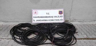 Trafik Kazaları: 380 metre kablo çalan hırsızlar trafik kazasında yakalandı