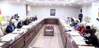 Süleyman Soylu: Bağdat ve Erbil, PKK'nın Sincar'daki varlığını sonlandıracak anlaşmayı uygulamaya başladığını duyurdu