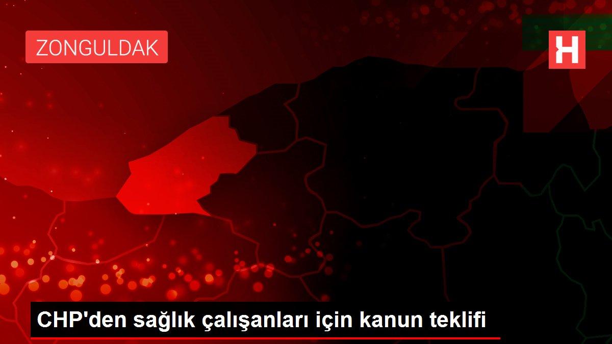 CHP'den sağlık çalışanları için kanun teklifi