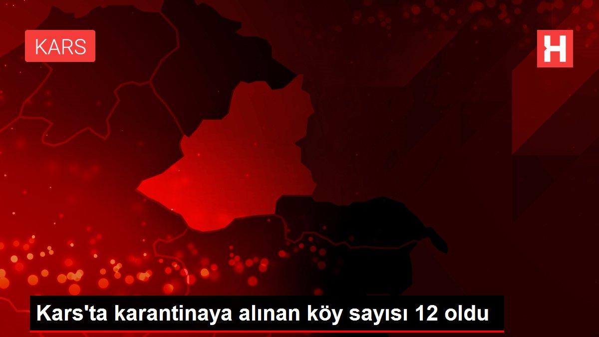 Kars'ta karantinaya alınan köy sayısı 12 oldu