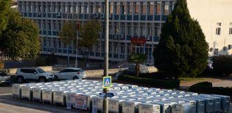 Hüseyin Aksoy: Koçarlı Belediyesi'ne 115 çöp konteyneri hibe edildi