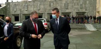 Şike: Son dakika haberi | Gürcistan Başbakanı Gakharia, ABD Dışişleri Bakanı Pompeo'yu kabul etti