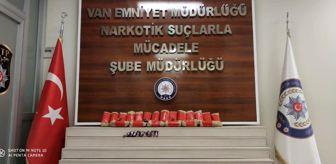 Van: Van'da 16 kilo uyuşturucu ele geçirildi