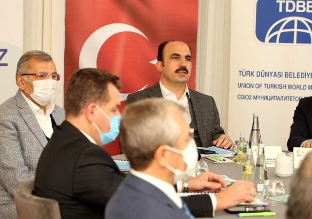 Başkan Altay TDBB Yürütme Kurulu Toplantısına katıldı