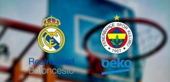 Rudy Fernandez: Real Madrid - Fenerbahçe Beko maçı hangi kanalda, şifreli mi? Real Madrid Fenerbahçe maçı saat kaçta? Fenerbahçe basketbol maçı ne zaman?