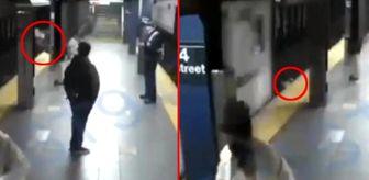 Square: ABD'de evsiz bir adam, tren bekleyen kadını rayların altına itti
