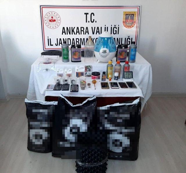 Son dakika haberleri | Ankara jandarmasından hayvan hırsızlarına ve uyuşturucu satıcılarına darbe