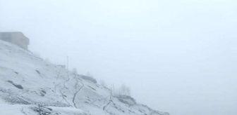 Çamlıhemşin: Doğu Karadeniz'de kar yağışı etkili oluyor