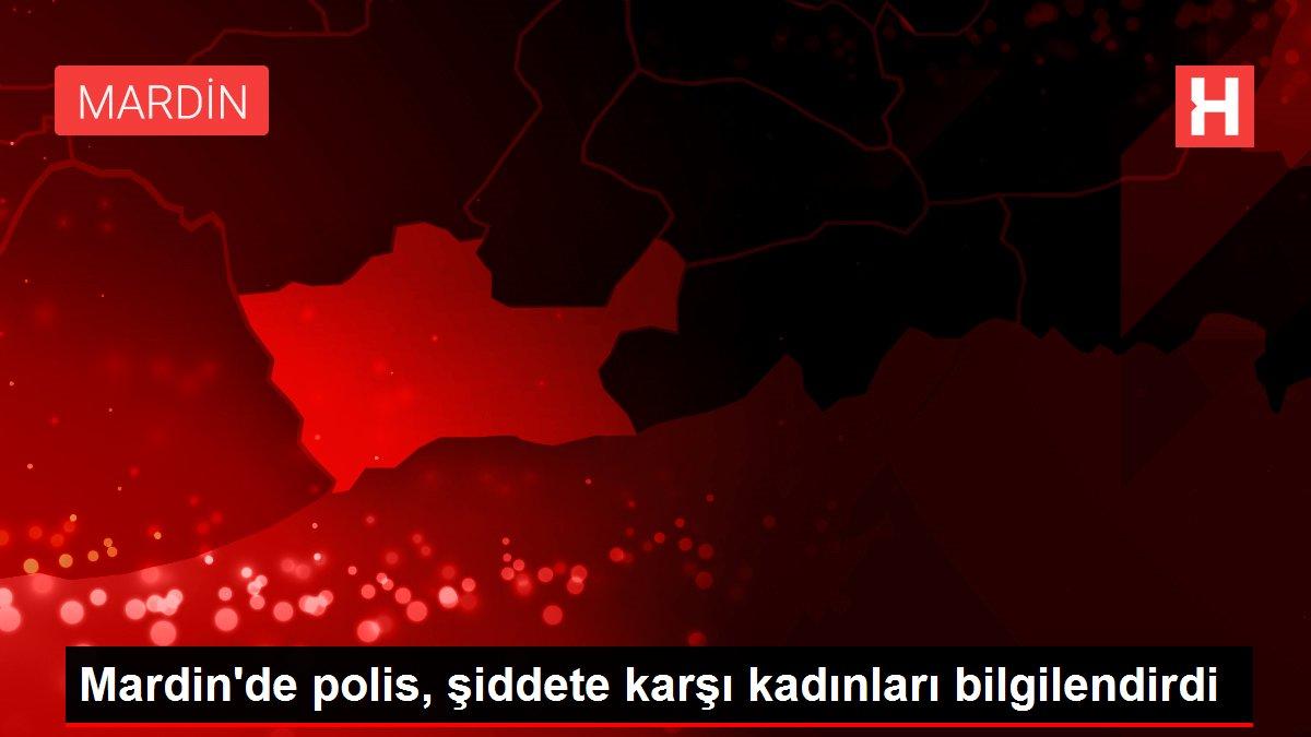 Mardin'de polis, şiddete karşı kadınları bilgilendirdi