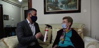 İçim: Okuma hevesini yitirmeyen 84 yaşındaki kadın liseden mezun oldu