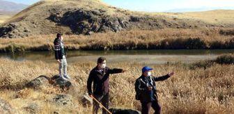 Van Gölü: Yaban domuzu korkusu yüzünden sopasız çıkmıyorlar