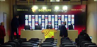 Şapka: Göztepe - MKE Ankaragücü maçının ardından