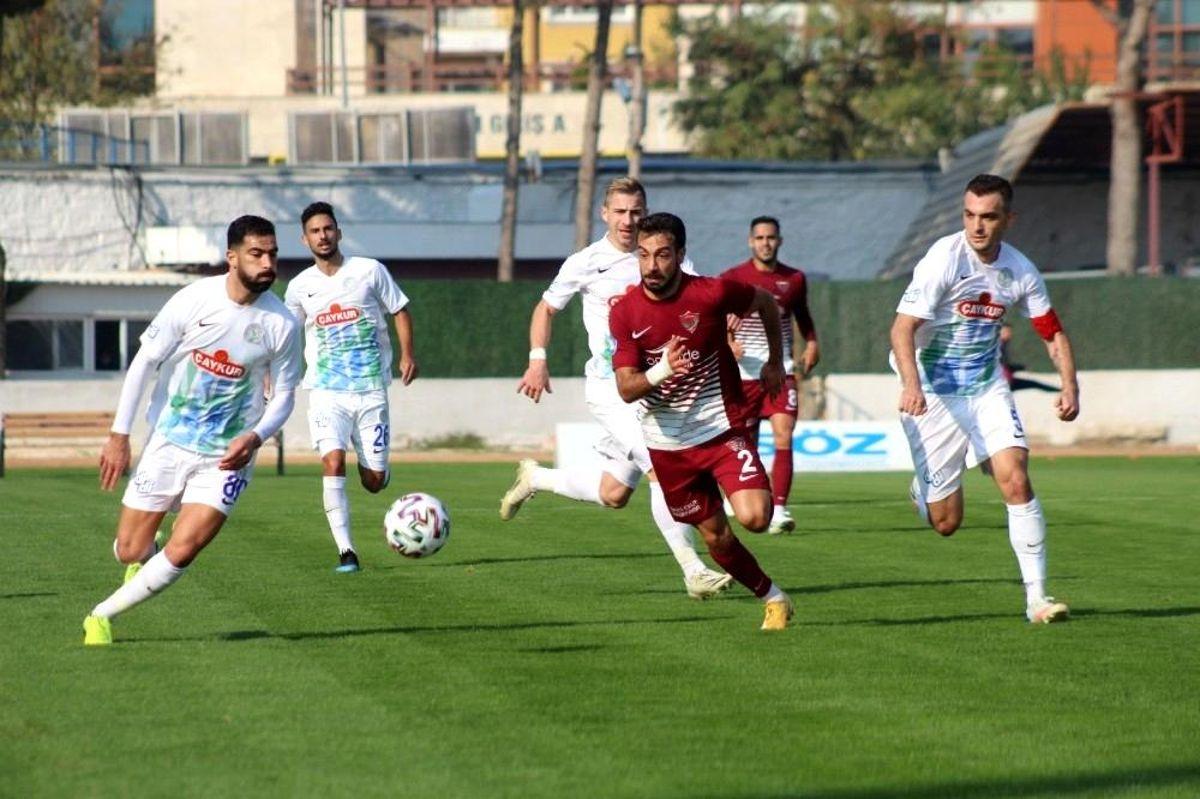 Süper Lig: A.Hatayspor: 2 Ç.Rizespor: 2 (Maç sonucu)
