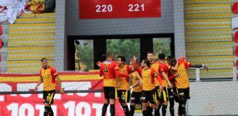 Erdi Dikmen: Süper Lig: Göztepe: 1 Ankaragücü: 0 (İlk Yarı)