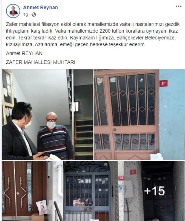 Bakan Koca'nın 'Artış kontrol altında' dediği İstanbul'da bir mahalledeki vaka sayısı 2 bin 200