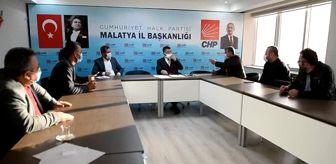 Malatya: CHP'li Ağbaba, bakkal ve tekel bayisi esnafıyla bir araya geldi