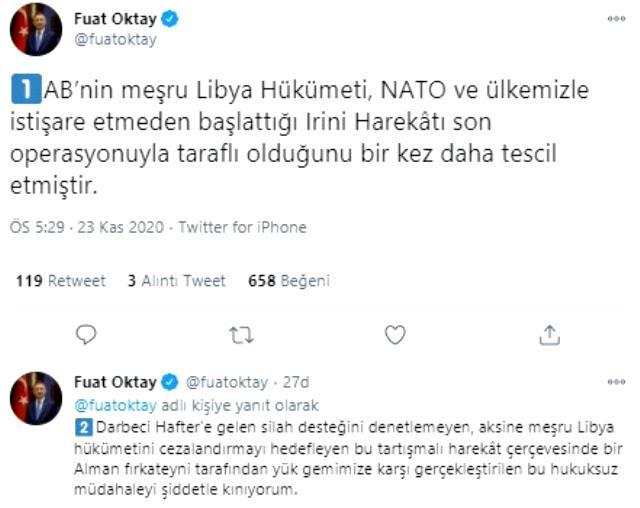 Cumhurbaşkanlığı'ndan Türk gemisinde yapılan aramaya sert tepki: AB, taraflı olduğunu bir kez daha tescil etmiştir