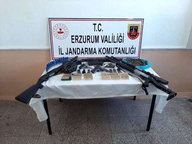 Son dakika haber: Erzurum'da silah ticareti ve uyuşturucu madde operasyonu: 10 tutuklama