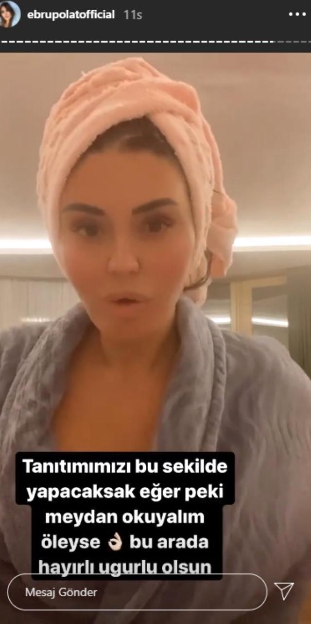 Gülşah Saraçoğlu ve Ebru Polat, ürettikleri şampuanları tanıtmak için banyo yaptığı anları paylaştı