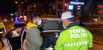 Bolu: Kısıtlamaya uymayan 13 kişiye 40 bin 950 lira ceza kesildi