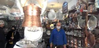 Artuklu: Mardin'de 'yapılış sırrı çözülemeyen' bakır sabunluk bin 500 liraya satışa çıkarıldı