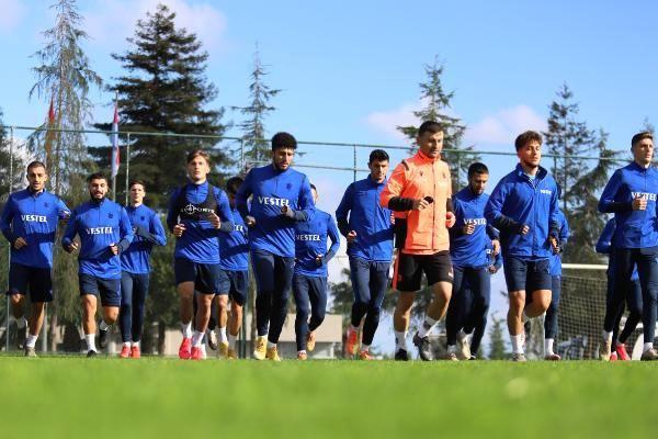 Trabzonspor'da Ankaragücü maçı hazırlıkları başladı
