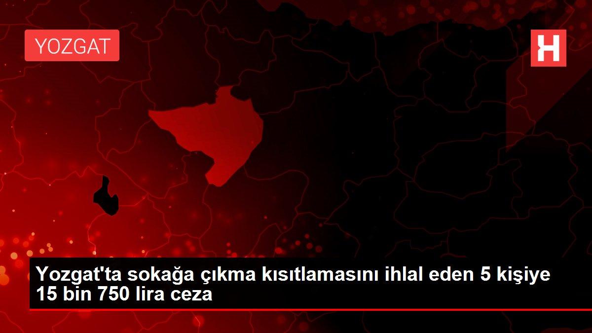 Son dakika haberleri: Sivas'ta sokağa çıkma kısıtlamasını ihlal eden 51 kişiye 19 bin 992 lira ceza