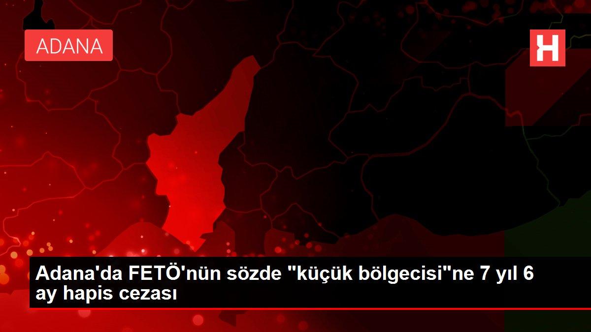 Son dakika haberleri | Adana'da FETÖ'nün sözde