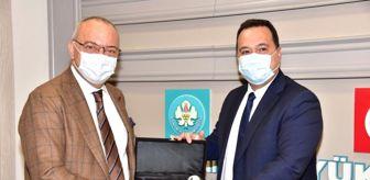 Manisa: Başkan Ergün ve Dutlulu Akhisar'ın projelerini konuştu