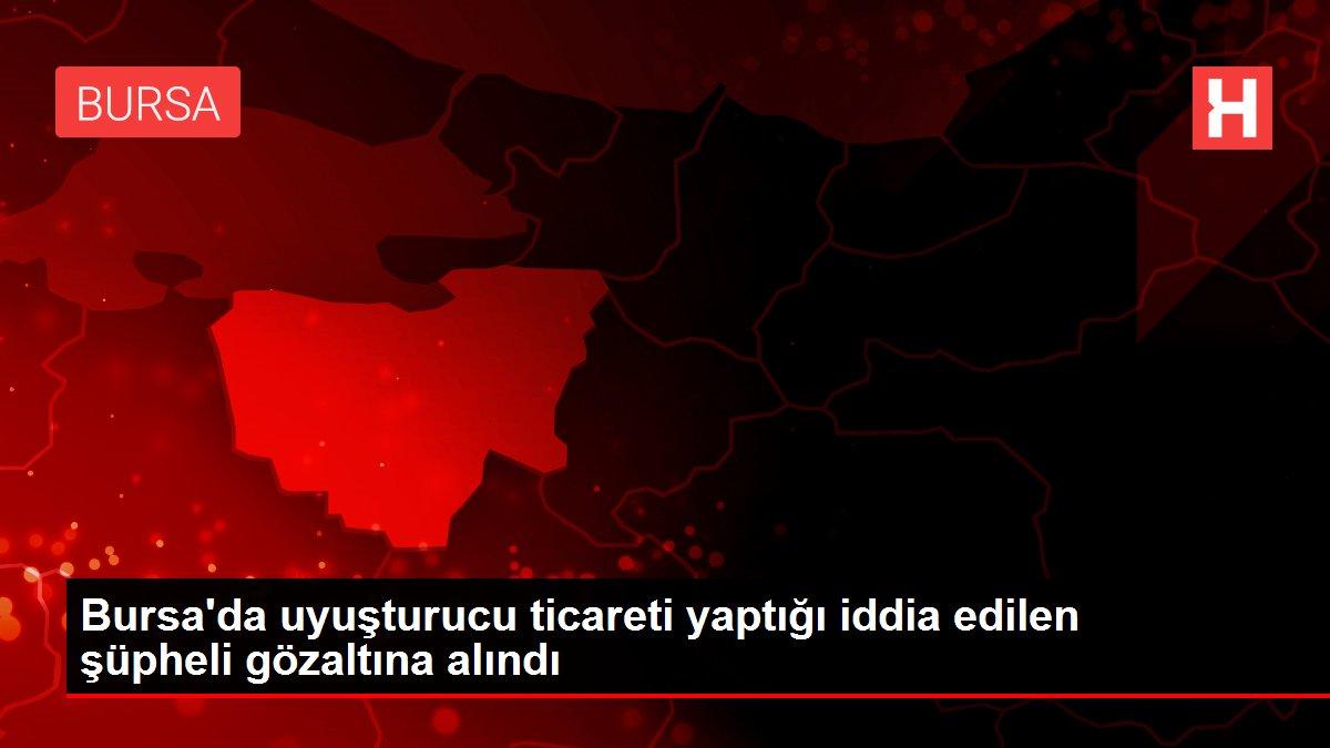Bursa'da uyuşturucu ticareti yaptığı iddia edilen şüpheli gözaltına alındı