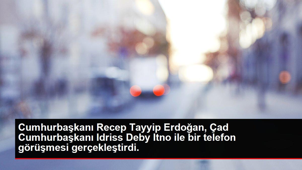 Cumhurbaşkanı Recep Tayyip Erdoğan, Çad Cumhurbaşkanı Idriss Deby Itno ile bir telefon görüşmesi gerçekleştirdi.